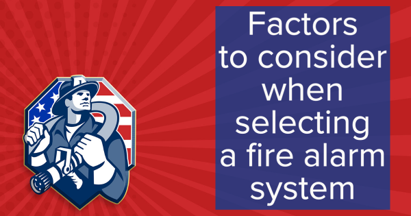 commercial fire alarm services